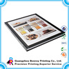 Paper brochure, advertising booklets printing, restaurant menu book