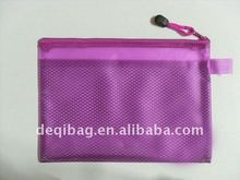 Stylish mesh document pouch for promotion