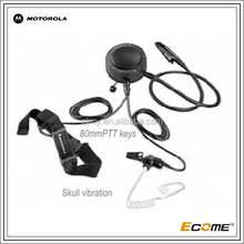two way radio /walkie talkie earpiece for motorola ATEX Throat Microphone GP329EX&PTX760EX radio