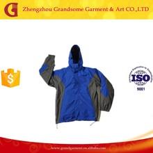 Contrast Color Waterproof Varsity Jacket