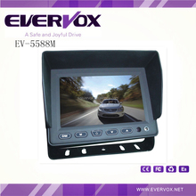 """5"""" HD digital panel monitor with 3 video and 2 audio input 800*480 resolution"""