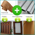 Perfil de aluminio para muros cortina/muebles de aluminio perfil/de extrusión de aluminio de perfil