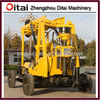 Manufacture direct drilling machine price, small water well drilling machine, rotary drilling rig DT-200Y