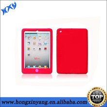 Bright colours case for ipad,soft silicon case for ipad.