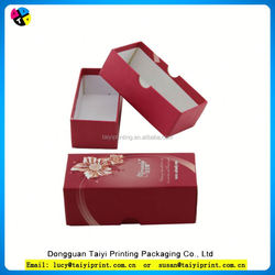 Customized printed cardboard box 1-layer sbb paper gift box set