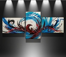 Chinese supplier group oil painting canvas art,group oil paintings
