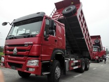 sinotruk howo camion benne drive type 6X4 8X4 euro2 tipper