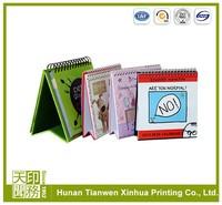 printable paper custom desk calendar design