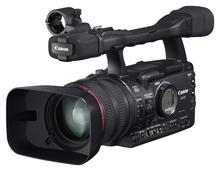 Canon professional camcorder