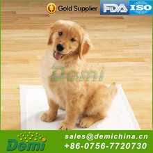 High quality high absorbency disposable urine absorbent pet training pads for household use