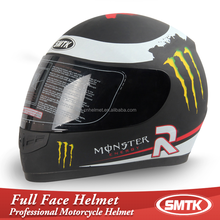 two visors full face helmet smtk-111