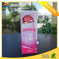 High Quality Cosmetics Clear PVC package box