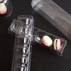 Transparent Plastic Macaron blister trays packaging