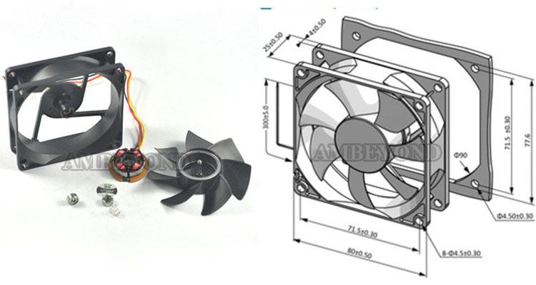 High Speed 12 Volt Cooling Fans : Mm v dc cooling fan ip waterproof