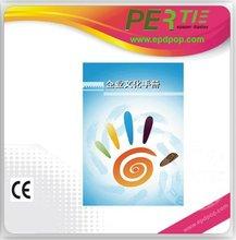 publicidad de la exhibición del lcd multimedia pantalla e-paper flexible para infoor utiliza anuncios de display de colores