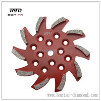 250mm concrete floor grinding disk