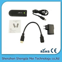 MK809 II Android 4.4 Mini PC TV Dongle Rockchip RK3066 1.2GHz A9 Dual core 1GB RAM 8GB Bluetooth MK809II 3D TV Box