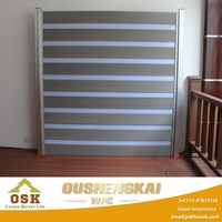 Quality Assured WPC Fence/Wood Plastic Fence/Enclosure Wall 1.8m