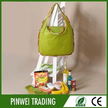 Nylon polyester foldable shopping bag ,custom recycled shopping bag personalized wholesale