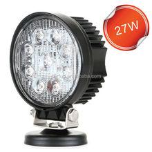 Factory direct 27w led work light led off road,offroad led light bar,led 4x4,auto 12v led driving lights