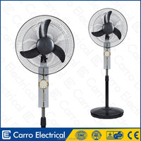 Cheapest price rechargeable solar dc cooler battery fan large portable battery pack