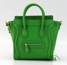 Retail best quality green designer leather handbags women high fashion handbags dropship no MOQ
