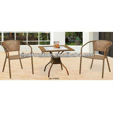 Steel Rattan Wicker Garden Outdoor Furniture Sets table chairs