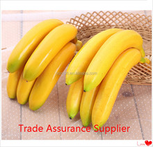 Lifelike Decorative Plastic Artificial Fake Fruit Home Decor Craft Banana