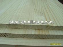 Yellow New Zealand pine teak wood rubberwood finger joint board