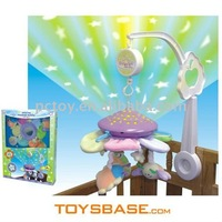 Interesting Baby Cot Music Mobile With Light