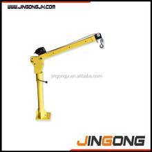Pick up crane with 12V DC winch/small car lift crane