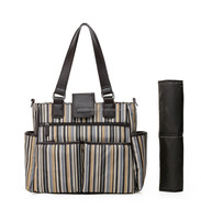 Green Products New lightweight handmade diaper bag, baby bag, tote