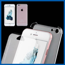 C&T Clear Transparent Two Piece PC Full Body Front and Hard Back Protective Case Cover for iPhone 6 6s