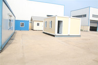 resort designed china prefab cabin container house heat insulation