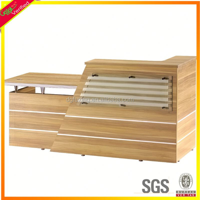 modular tanning salon reception counter desks office front