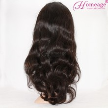homeage top grade 6a human hair wig lace wig human hair material