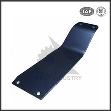 Black anodized 6061 aluminum sheet metal stamping parts for bus