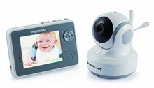 Foscam FBM3501 Digital Video Baby Monitor - 2.4 Ghz with Pan/Tilt, Nightvision and Two-Way Audio/Video Camera with 3.5-Inch LCD