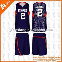 Training sport wear High school Basketball practice shirt products