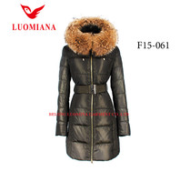 with fur collar women sexy winter clothing