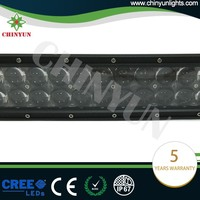 Hot sale high quality Osram curved led tractor work lights and light bar amber