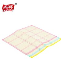 3pcs kitchen cotton cleaning cloth rags 8 layers