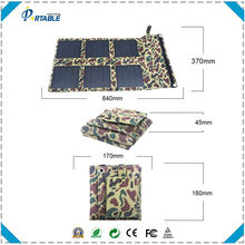 hottest selling 18W Foldable military backpack for battery and phone directly suitable for travel/camping