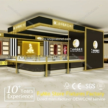 China custom jewlery showcase,modern display cabinet and showcase for jewelry shop