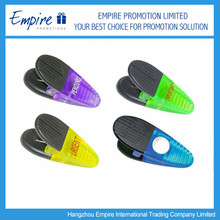 Practical Stationary Promotional Plastic Spring Loaded Clips