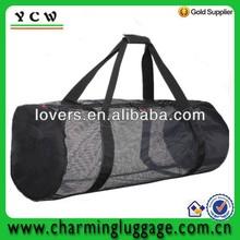 mesh traveling bags/mesh duffle bag/mesh bag