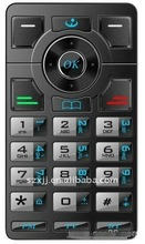 TV/FM/BT Double-sided Pulsator Keypad Membrane Switch For Inconvenient People