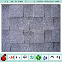 3 Tab Fiberglass Colored Asphalt Roof Shingles