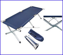 promotional folding military bed, foldable army cot, foldable camping bed