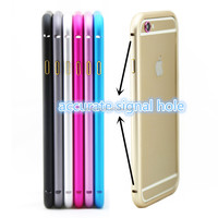 metal case bumper aluminium alloy case for iphone5 for iphone6 easy install